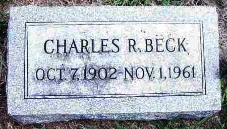 BECK, CHARLES R - Lincoln County, South Dakota | CHARLES R BECK - South Dakota Gravestone Photos