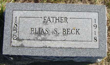 BECK, ELIAS S - Lincoln County, South Dakota | ELIAS S BECK - South Dakota Gravestone Photos