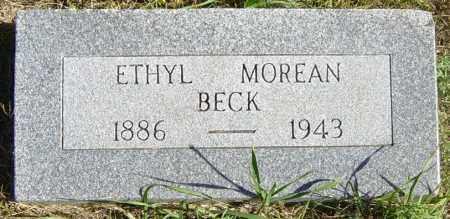 MOREAN BECK, ETHYL - Lincoln County, South Dakota | ETHYL MOREAN BECK - South Dakota Gravestone Photos