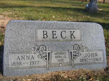 BECK, ANNA - Lincoln County, South Dakota | ANNA BECK - South Dakota Gravestone Photos