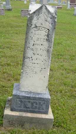 BECK, LYDIA - Lincoln County, South Dakota | LYDIA BECK - South Dakota Gravestone Photos