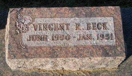 BECK, VINCENT R - Lincoln County, South Dakota | VINCENT R BECK - South Dakota Gravestone Photos