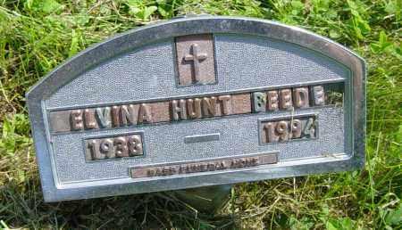 BEEDE, ELVINA - Lincoln County, South Dakota | ELVINA BEEDE - South Dakota Gravestone Photos