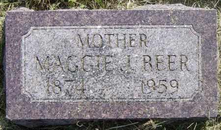 BEER, MAGGIE J - Lincoln County, South Dakota | MAGGIE J BEER - South Dakota Gravestone Photos