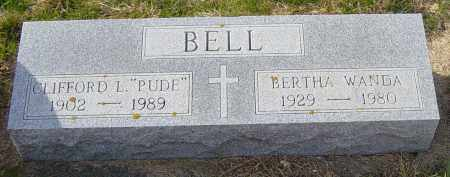 """BELL, CLIFFORD L  """"PUDE"""" - Lincoln County, South Dakota 