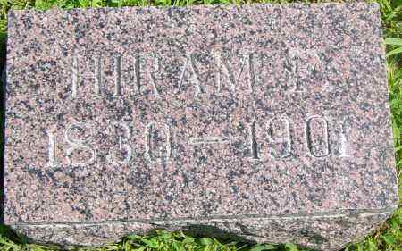 BENEDICT, HIRAM F - Lincoln County, South Dakota   HIRAM F BENEDICT - South Dakota Gravestone Photos