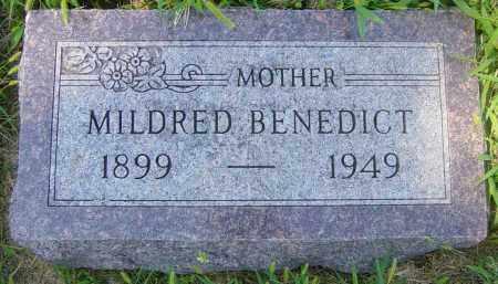 BENEDICT, MILDRED - Lincoln County, South Dakota | MILDRED BENEDICT - South Dakota Gravestone Photos