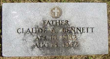 BENNETT, CLAUDE A - Lincoln County, South Dakota | CLAUDE A BENNETT - South Dakota Gravestone Photos