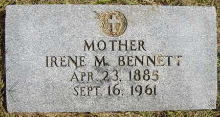 BENNETT, IRENE M - Lincoln County, South Dakota | IRENE M BENNETT - South Dakota Gravestone Photos