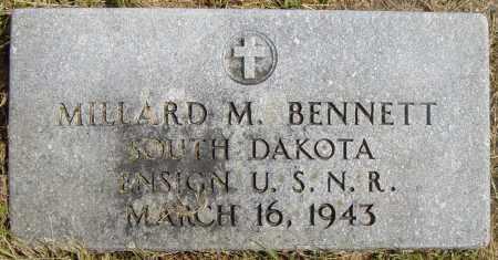 BENNETT, MILLARD M - Lincoln County, South Dakota | MILLARD M BENNETT - South Dakota Gravestone Photos