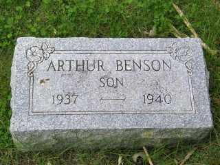 BENSON, ARTHUR - Lincoln County, South Dakota | ARTHUR BENSON - South Dakota Gravestone Photos