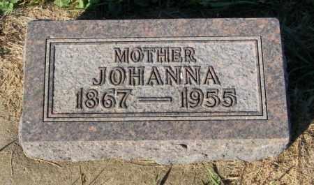 BENSON, JOHANNA - Lincoln County, South Dakota | JOHANNA BENSON - South Dakota Gravestone Photos
