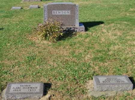 BENSON PLOT, CARL & JOHANNA - Lincoln County, South Dakota | CARL & JOHANNA BENSON PLOT - South Dakota Gravestone Photos