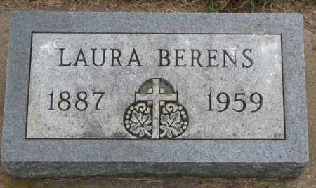 BERENS, LAURA - Lincoln County, South Dakota | LAURA BERENS - South Dakota Gravestone Photos