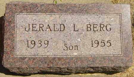 BERG, JERALD L - Lincoln County, South Dakota | JERALD L BERG - South Dakota Gravestone Photos
