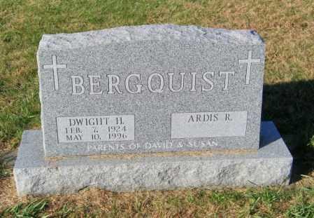 BERGQUIST, DWIGHT H - Lincoln County, South Dakota | DWIGHT H BERGQUIST - South Dakota Gravestone Photos