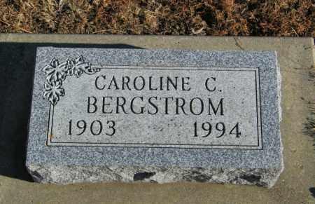 BERGSTROM, CAROLINE C - Lincoln County, South Dakota   CAROLINE C BERGSTROM - South Dakota Gravestone Photos