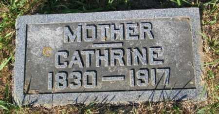 BERGSTROM, CATHRINE - Lincoln County, South Dakota | CATHRINE BERGSTROM - South Dakota Gravestone Photos