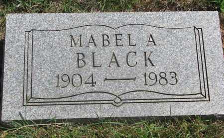 BLACK, MABEL A. - Lincoln County, South Dakota | MABEL A. BLACK - South Dakota Gravestone Photos