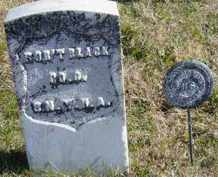 BLACK, ROBT - Lincoln County, South Dakota   ROBT BLACK - South Dakota Gravestone Photos