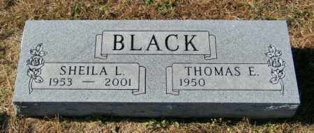 BLACK, THOMAS E - Lincoln County, South Dakota | THOMAS E BLACK - South Dakota Gravestone Photos