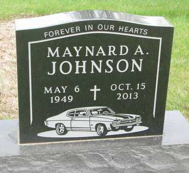 JOHNSON, MAYNARD A. - Lincoln County, South Dakota   MAYNARD A. JOHNSON - South Dakota Gravestone Photos