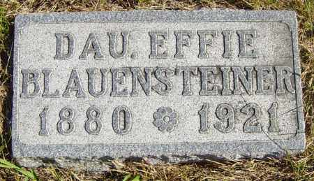 BLAUENSTEINER, EFFIE - Lincoln County, South Dakota | EFFIE BLAUENSTEINER - South Dakota Gravestone Photos