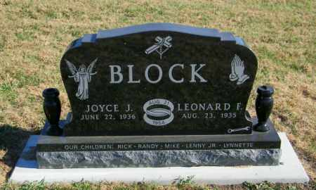 BLOCK, JOYCE J - Lincoln County, South Dakota | JOYCE J BLOCK - South Dakota Gravestone Photos