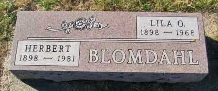 BLOMDAHL, HERBERT - Lincoln County, South Dakota | HERBERT BLOMDAHL - South Dakota Gravestone Photos