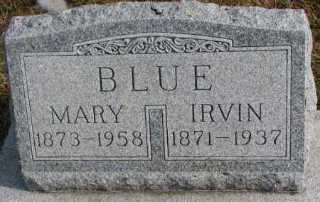 BLUE, IRVIN - Lincoln County, South Dakota | IRVIN BLUE - South Dakota Gravestone Photos