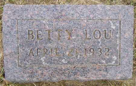 BOGUE, BETTY LOU - Lincoln County, South Dakota | BETTY LOU BOGUE - South Dakota Gravestone Photos