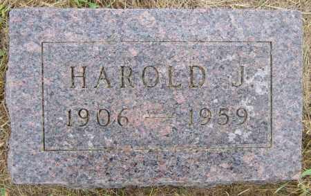 BOGUE, HAROLD J - Lincoln County, South Dakota | HAROLD J BOGUE - South Dakota Gravestone Photos