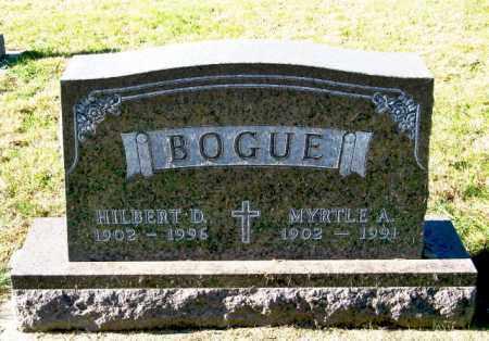 BOGUE, HILBERT D - Lincoln County, South Dakota | HILBERT D BOGUE - South Dakota Gravestone Photos