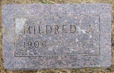 BOGUE, MILDRED J - Lincoln County, South Dakota | MILDRED J BOGUE - South Dakota Gravestone Photos