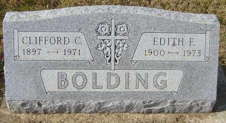 BOLDING, EDITH F - Lincoln County, South Dakota | EDITH F BOLDING - South Dakota Gravestone Photos