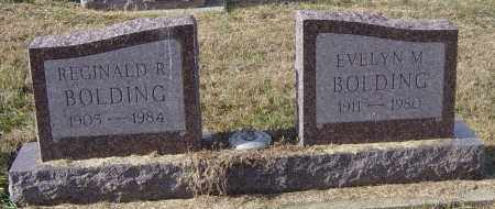 BOLDING, REGINALD R - Lincoln County, South Dakota   REGINALD R BOLDING - South Dakota Gravestone Photos