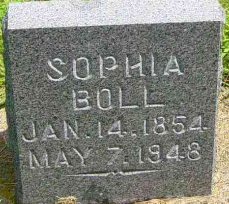 BOLL, SOPHIA - Lincoln County, South Dakota | SOPHIA BOLL - South Dakota Gravestone Photos