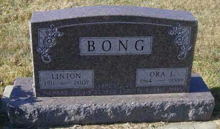 BONG, ORA L - Lincoln County, South Dakota | ORA L BONG - South Dakota Gravestone Photos