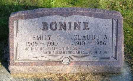 BONINE, CLAUDE A. - Lincoln County, South Dakota | CLAUDE A. BONINE - South Dakota Gravestone Photos