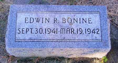BONINE, EDWIN R. - Lincoln County, South Dakota | EDWIN R. BONINE - South Dakota Gravestone Photos