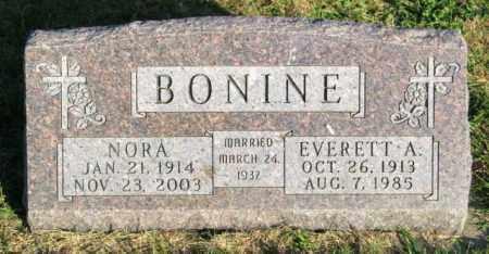 BONINE, EVERETT A. - Lincoln County, South Dakota | EVERETT A. BONINE - South Dakota Gravestone Photos