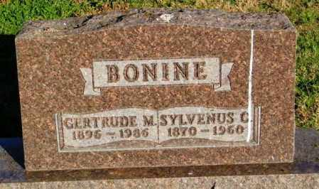 BONINE, SYLVENUS C. - Lincoln County, South Dakota | SYLVENUS C. BONINE - South Dakota Gravestone Photos