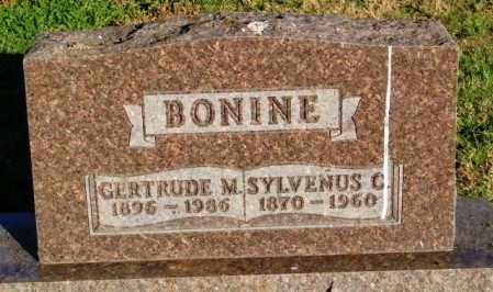BONINE, GERTRUDE M. - Lincoln County, South Dakota | GERTRUDE M. BONINE - South Dakota Gravestone Photos