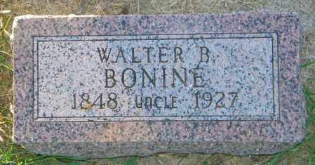 BONINE, WALTER B. - Lincoln County, South Dakota | WALTER B. BONINE - South Dakota Gravestone Photos