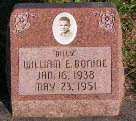 BONINE, WILLIAM E. - Lincoln County, South Dakota | WILLIAM E. BONINE - South Dakota Gravestone Photos
