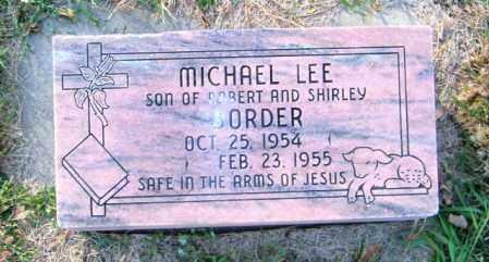 BORDER, MICHAEL LEE - Lincoln County, South Dakota | MICHAEL LEE BORDER - South Dakota Gravestone Photos