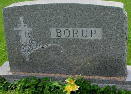 BORUP, FAMILY PLOT MARKER - Lincoln County, South Dakota   FAMILY PLOT MARKER BORUP - South Dakota Gravestone Photos