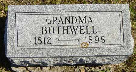 BOTHWELL, GRANDMA - Lincoln County, South Dakota | GRANDMA BOTHWELL - South Dakota Gravestone Photos