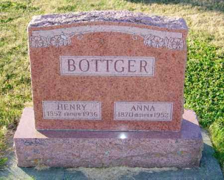 BOTTGER, HENRY - Lincoln County, South Dakota | HENRY BOTTGER - South Dakota Gravestone Photos