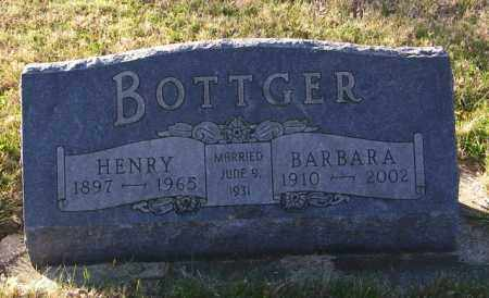 BOTTGER, HENRY - Lincoln County, South Dakota | HENRY BOTTGER - South Dakota Gravestone Photos